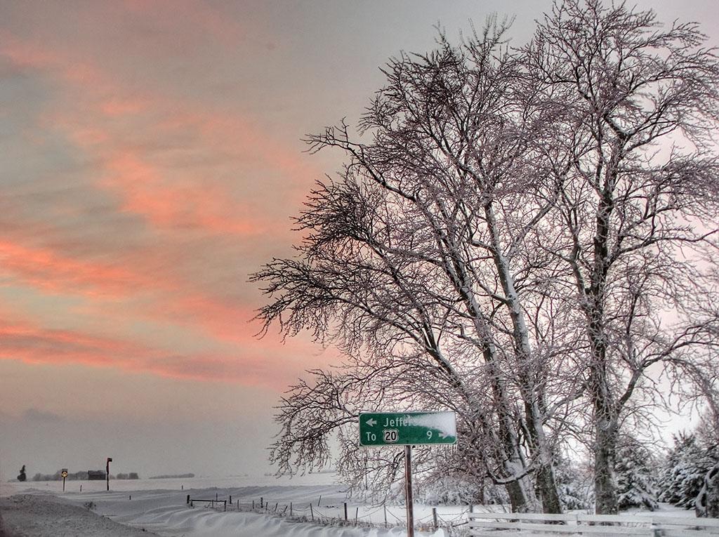 Iowa Snow Storm 2007