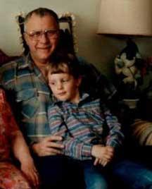 Grandpa Black and Chris